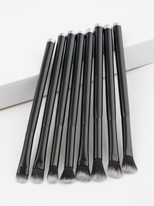 Soft Handle Makeup Brush 8pcs