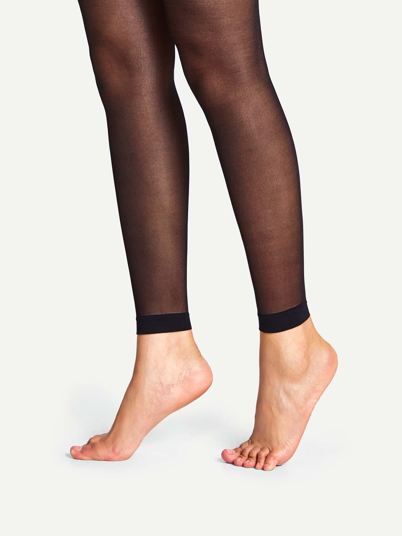 15D Footless Sheer Mesh Tights