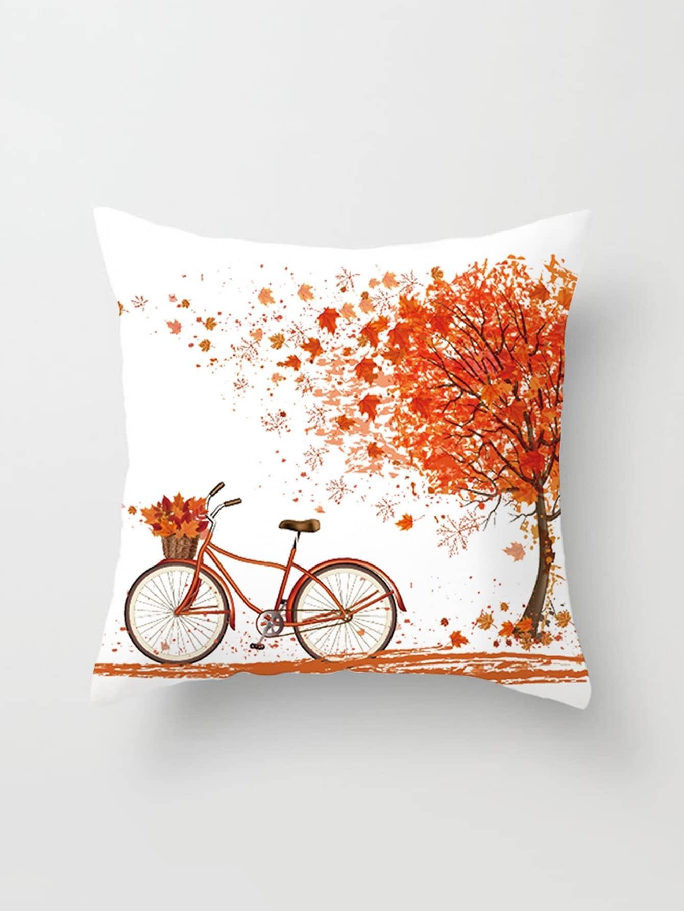 Tree Print Pillowcase Cover panda print linen pillowcase cover