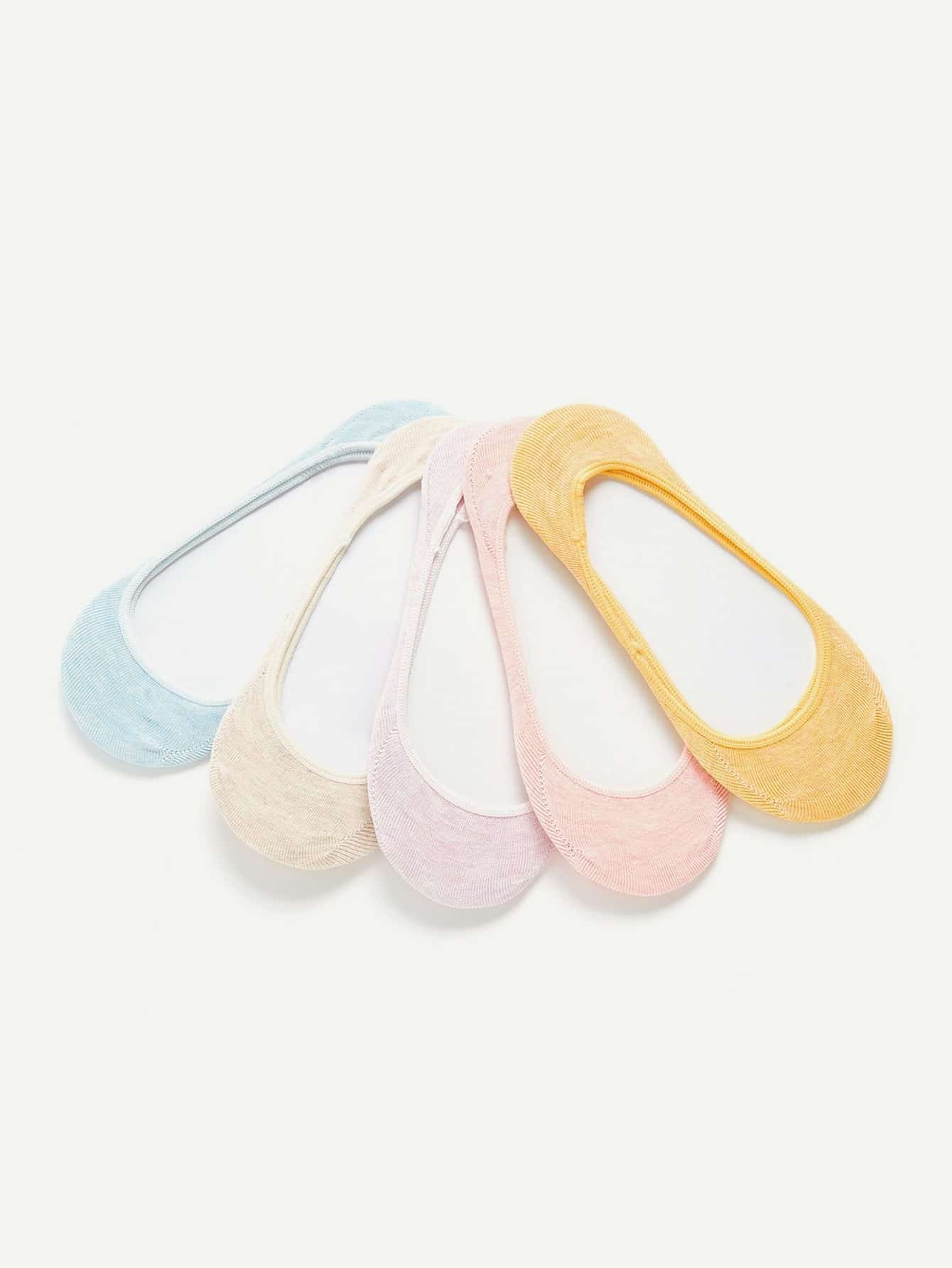 Invisible Socks 5pairs женские чулки 1 5pairs