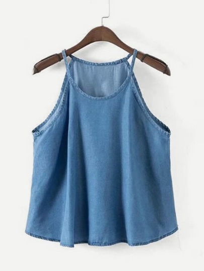 Denim Cami Top