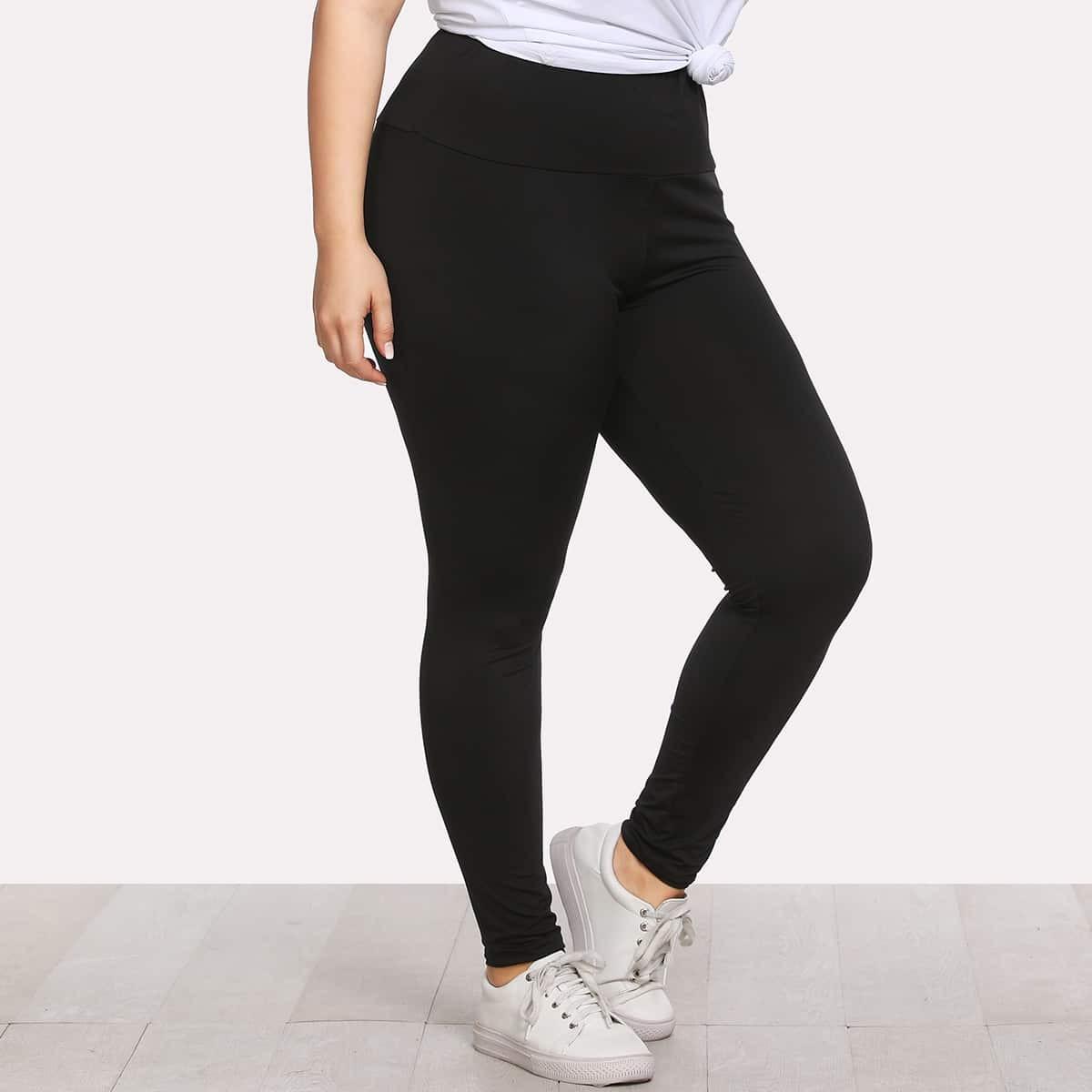 Leggings met elastische taille