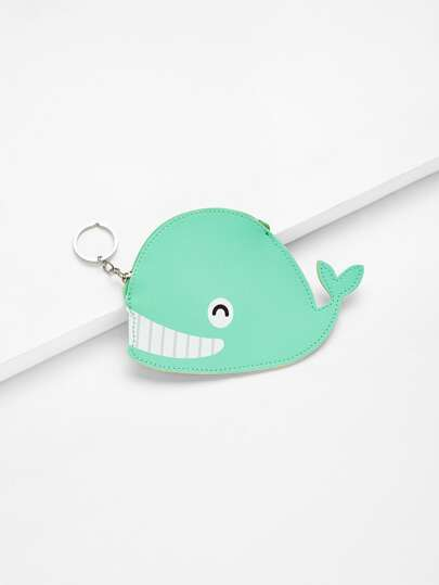 Whale Shaped Coin Purse