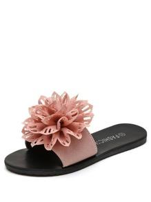 Hollow Out Flower Decor Sandals