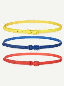 Skinny Belt 3pcs