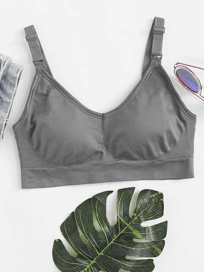 Detachable Straps Sports Bra