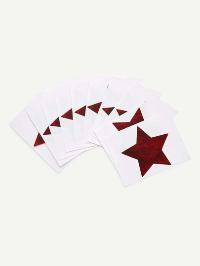 Star Shaped Nipples Covers 5pairs