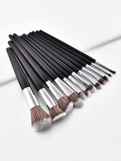 Soft Bristle Makeup Brush 12pcs
