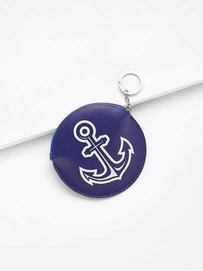 Anchor Design Purse Bag