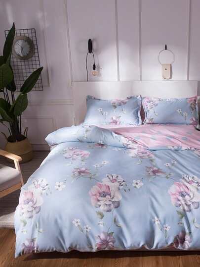 2.0m 4pcs Floral Bedding Set