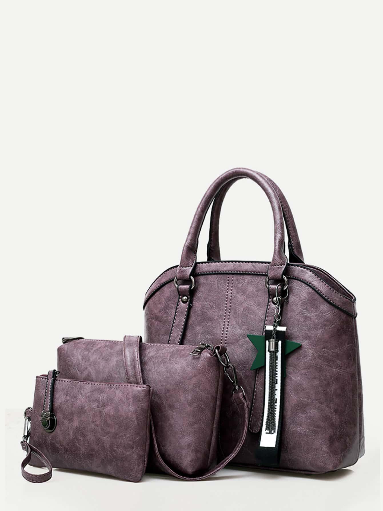 Tassel Charm Grab Bag 3Pcs