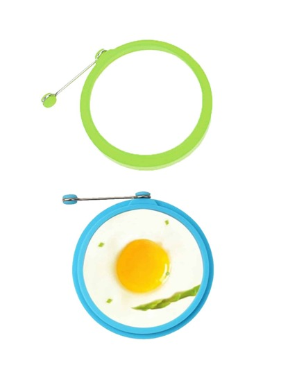 1Pc Random Color Round Eggs Cooking Mould