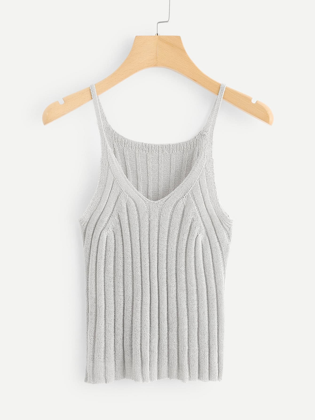 Loose Knit Cami Top
