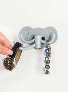 Elephant Wall Sticker Hook 1pc