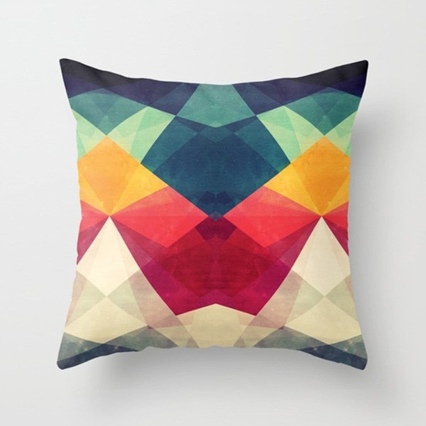 Color Block Pillowcase