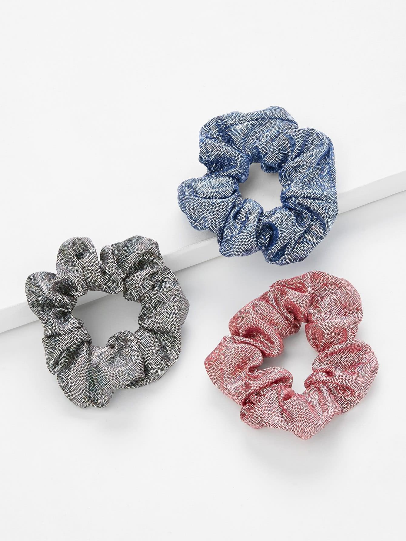 Mixed Color Hair Tie 3Pcs hair tie 3pcs