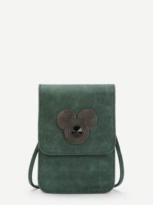 PU Flap Pouch Bag