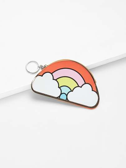 Cartoon Rainbow Coin Pouch