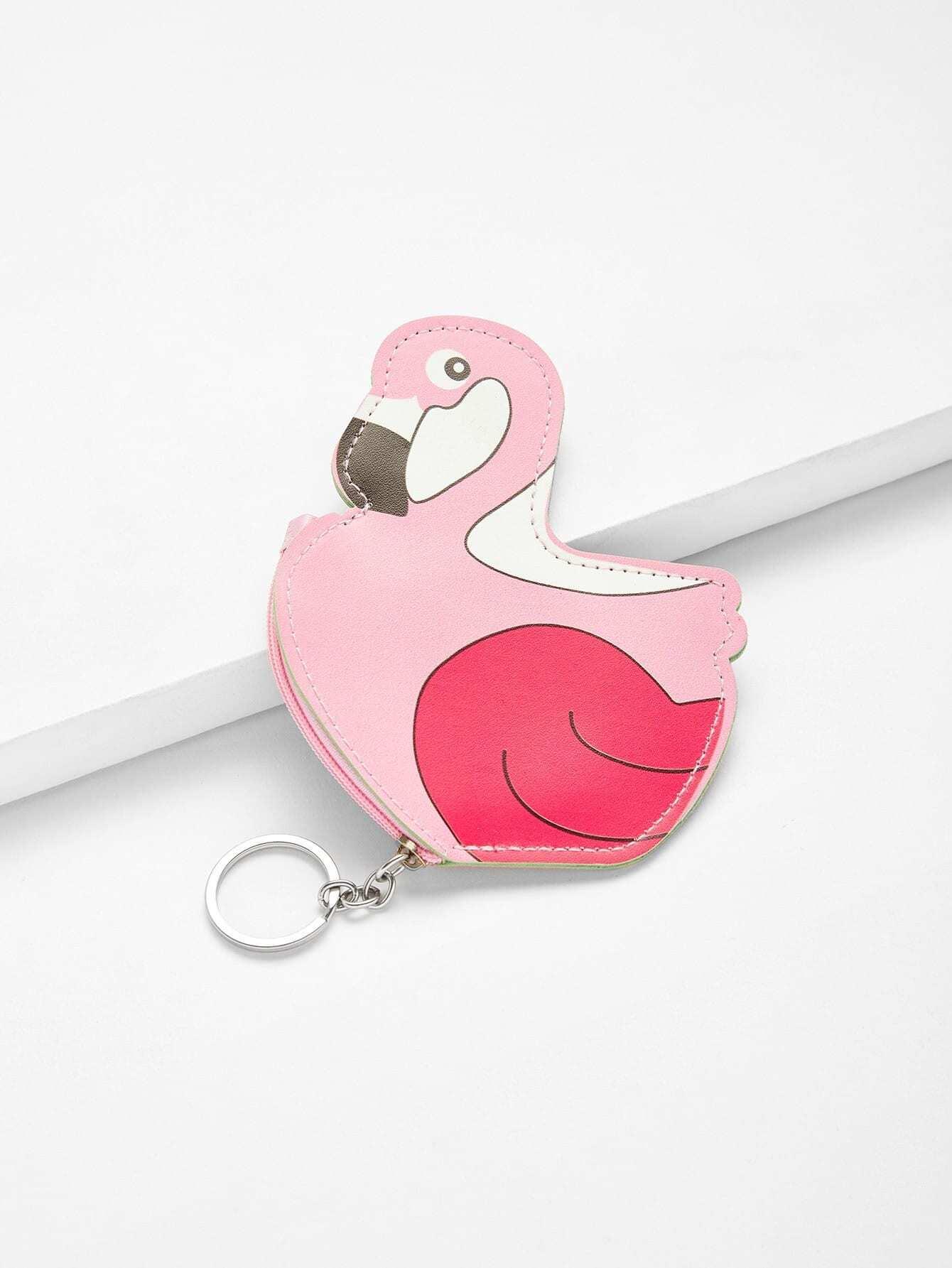 Кошелек монеты фламинго