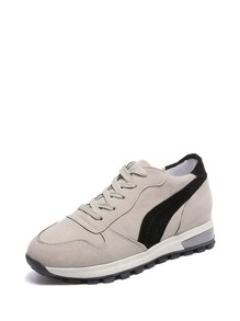 Lace Up Non Slip Sneakers