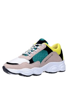 Colorblock Non Slip Trainers