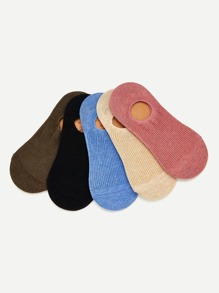Plain Invisible Ankle Socks 5pairs