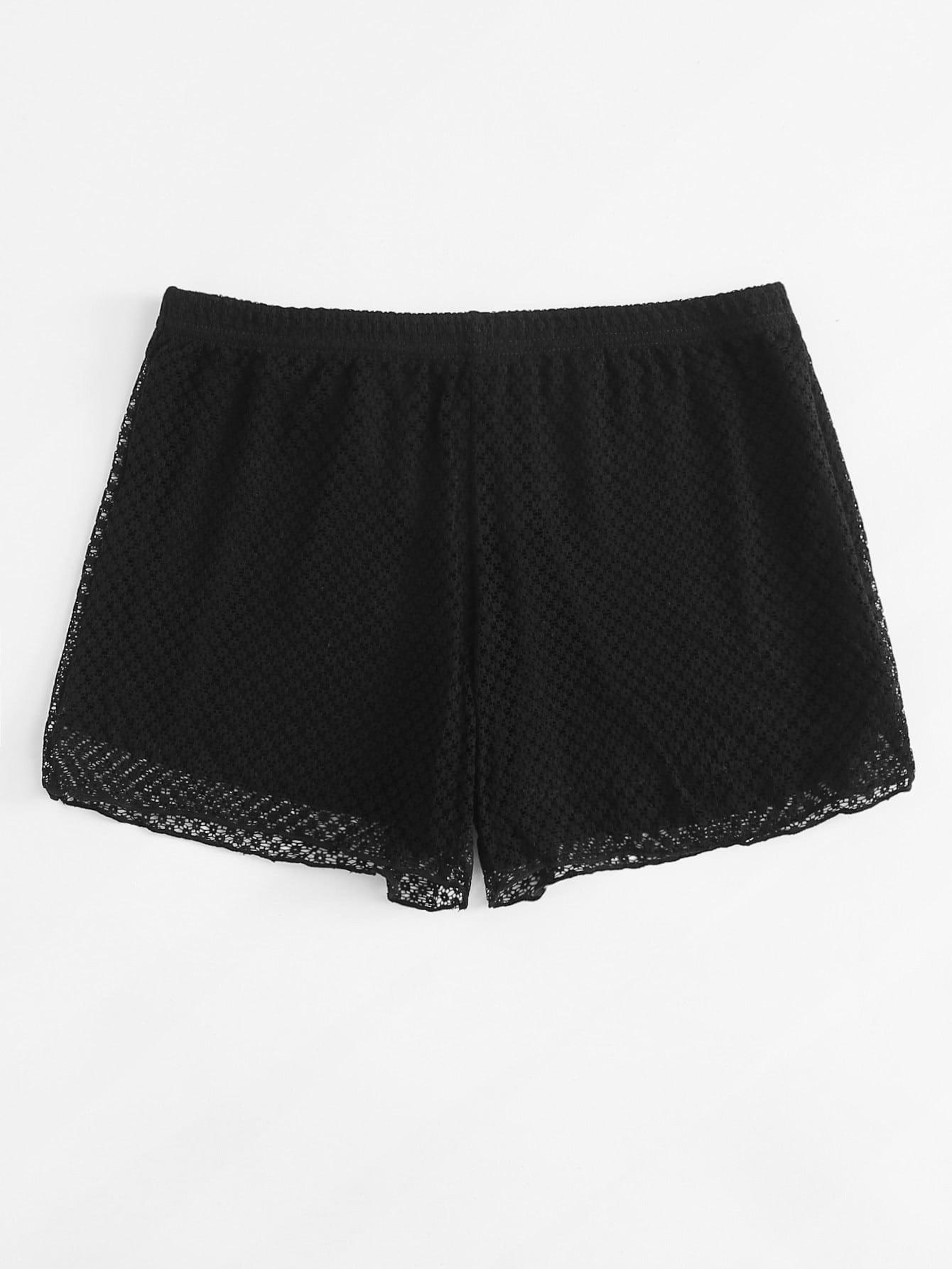Lace Boyshort Panty lingerie180314473