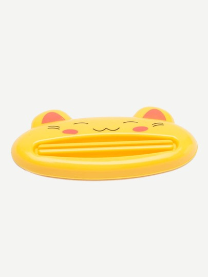 Cartoon Cat Toothpaste Squeezer 1pc