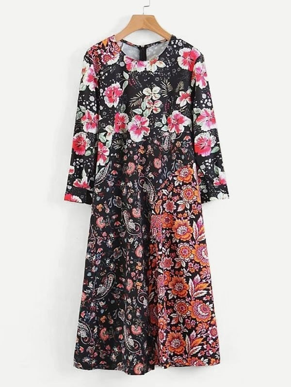All Over Florals Dress декор для стен