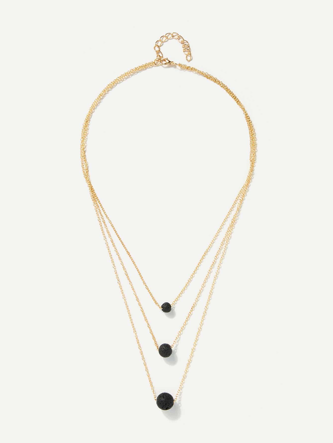 Золотые Вокруг Повседневные Ожерелья от SheIn