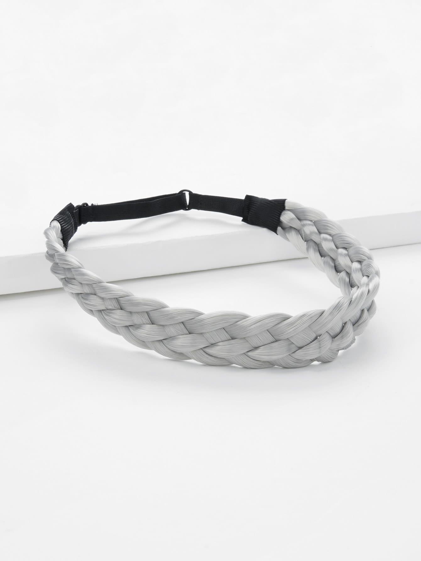 Woven Design Elastic Headband elastic sporty headband