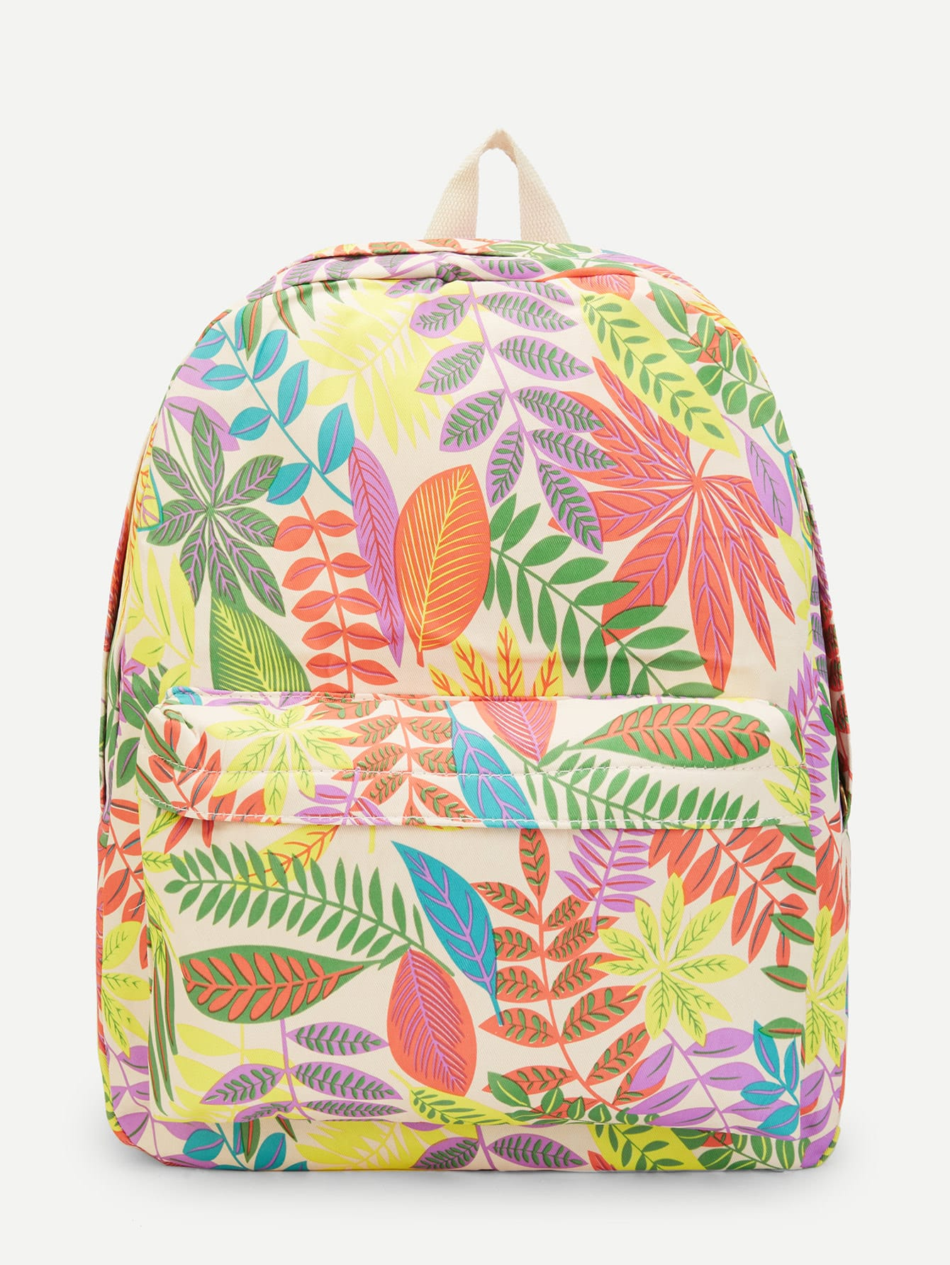 Jungle Print Backpack new skydue floral printed accordion document file folder expanding letter organizer pink