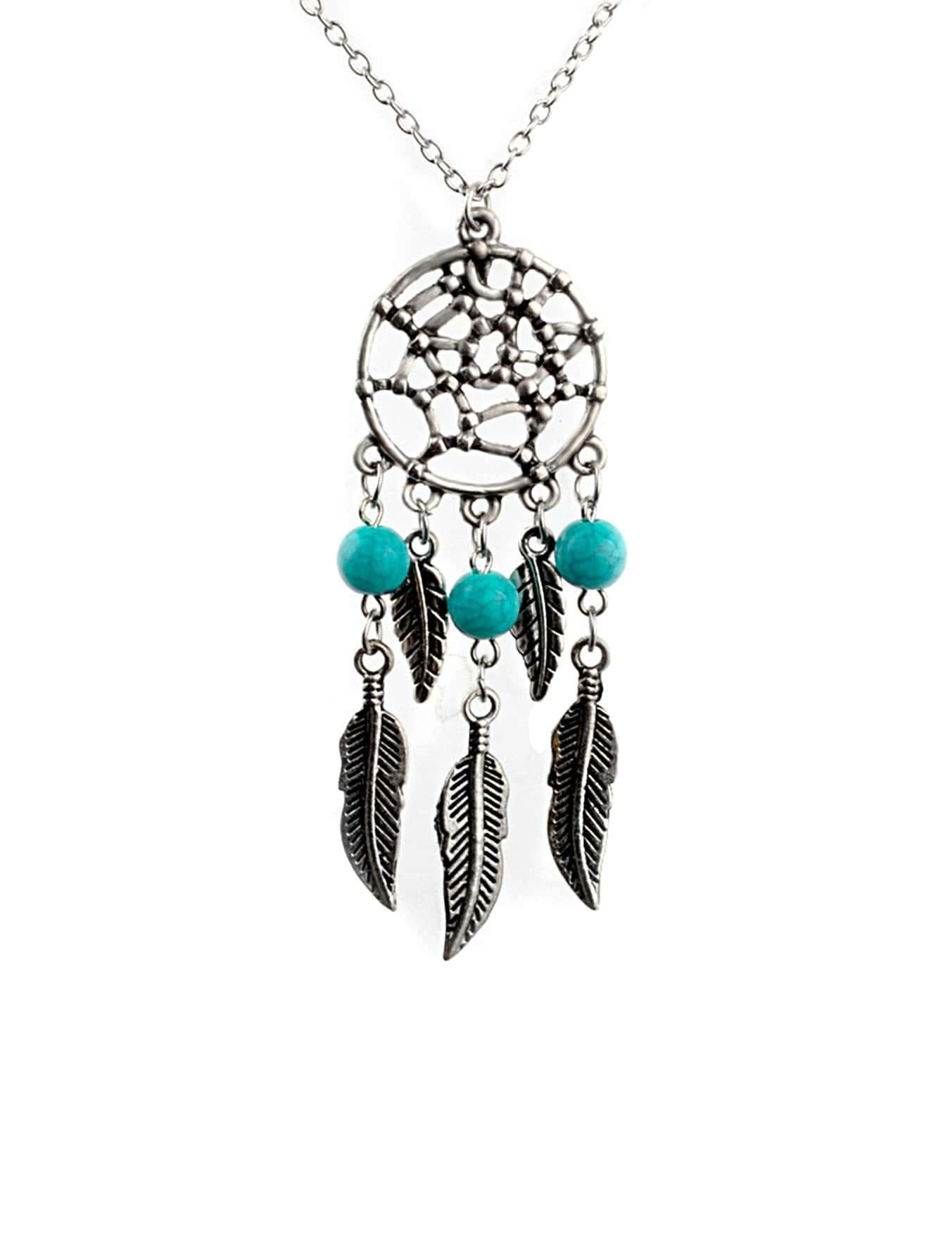 Dreamcatcher Pendant Chain Necklace