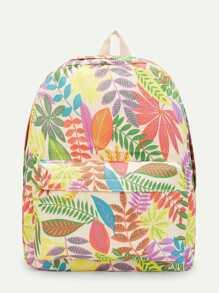 Jungle Print Backpack