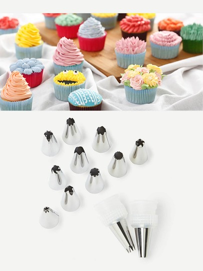 Nozzle Piping Cake Tool Set