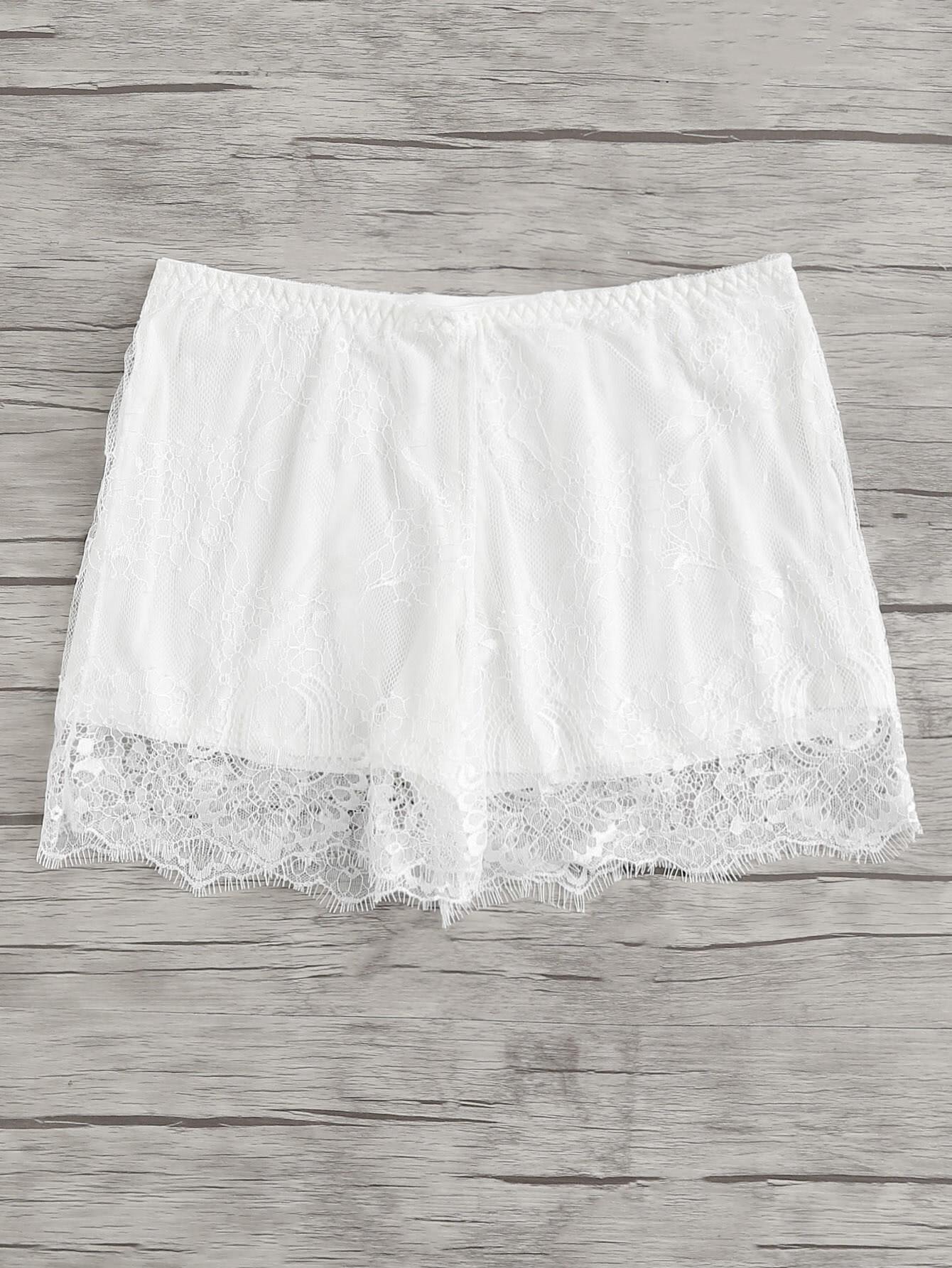 Eyelash Lace Boyshort Panty