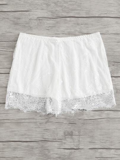 Eyelash Lace Boyshort Panty
