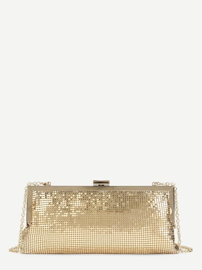 Glitter Clutch Chain Bag
