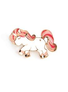 Cartoon Unicorn Pin