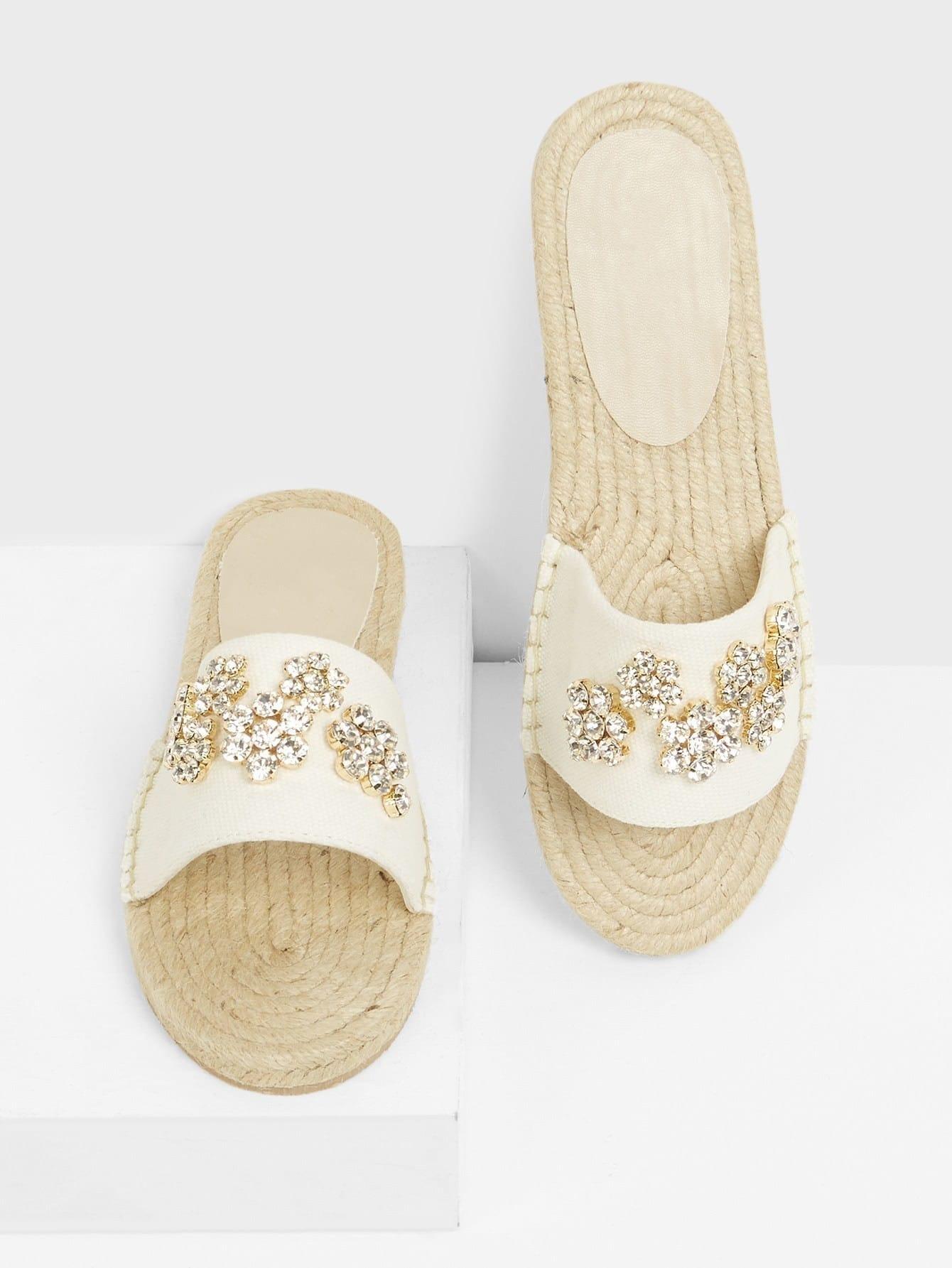 Купить Стильные сандали с украшениями, null, SheIn