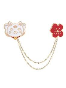 String Cat Pin