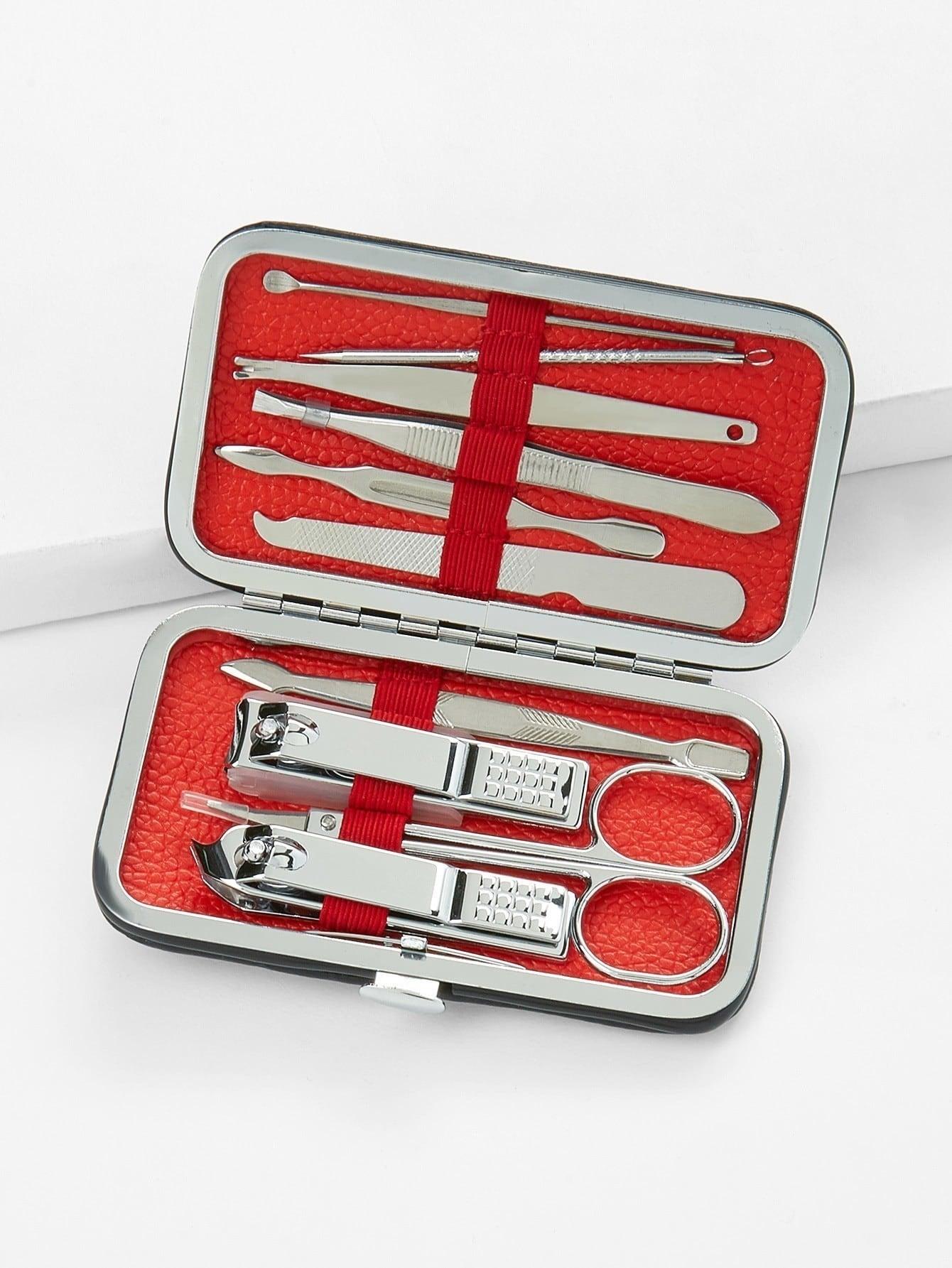 Nail Cutters Set With Bag nail cutters set with bag