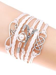 Plaited Layered Bracelet