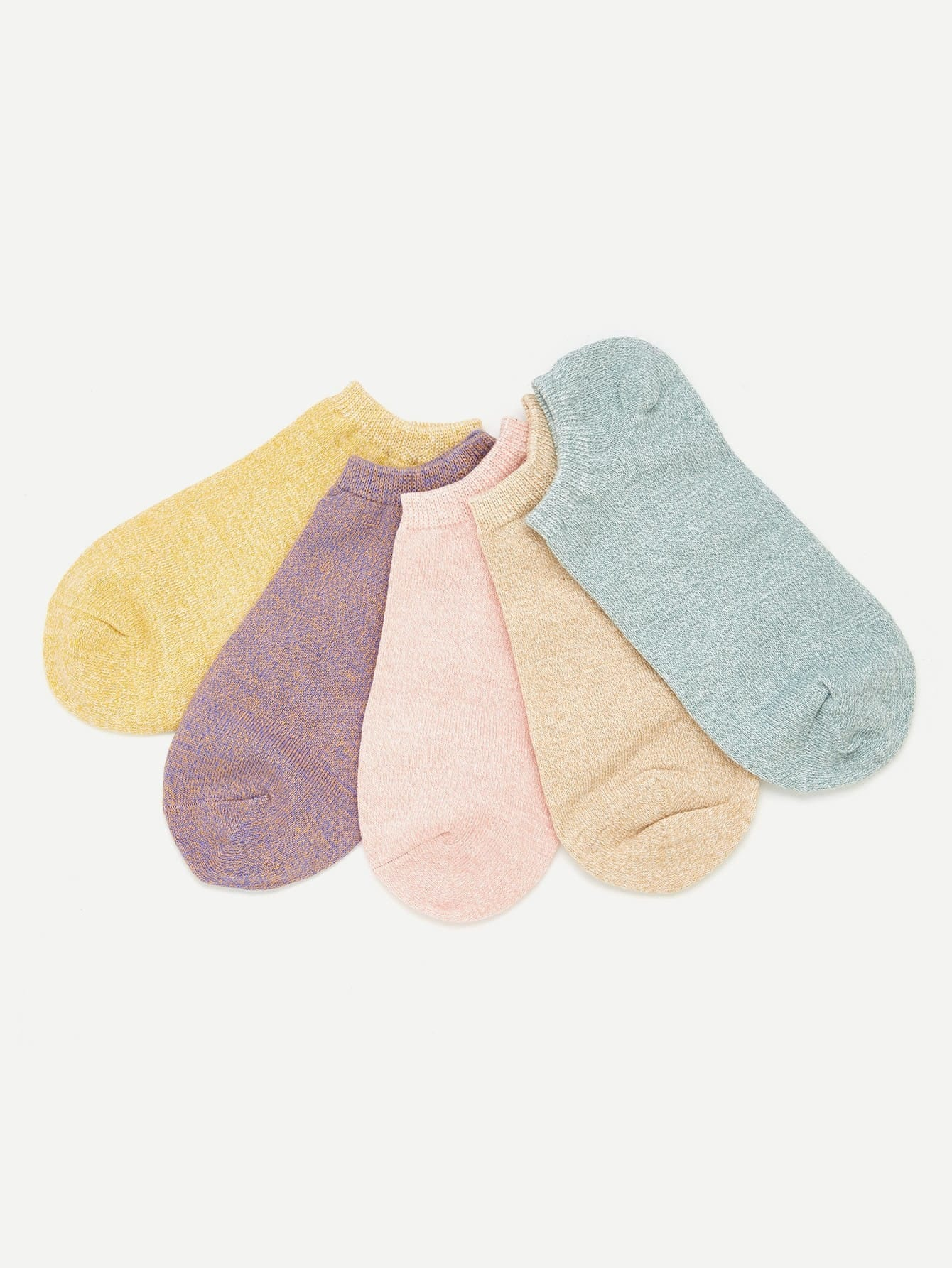 Cotton Invisible Ankle Socks 5pairs женские чулки 1 5pairs