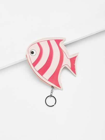 Goldfish Shaped Coin Pouch