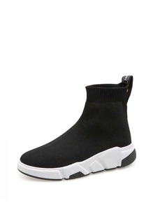 Slip On Sock Boot Sneakers