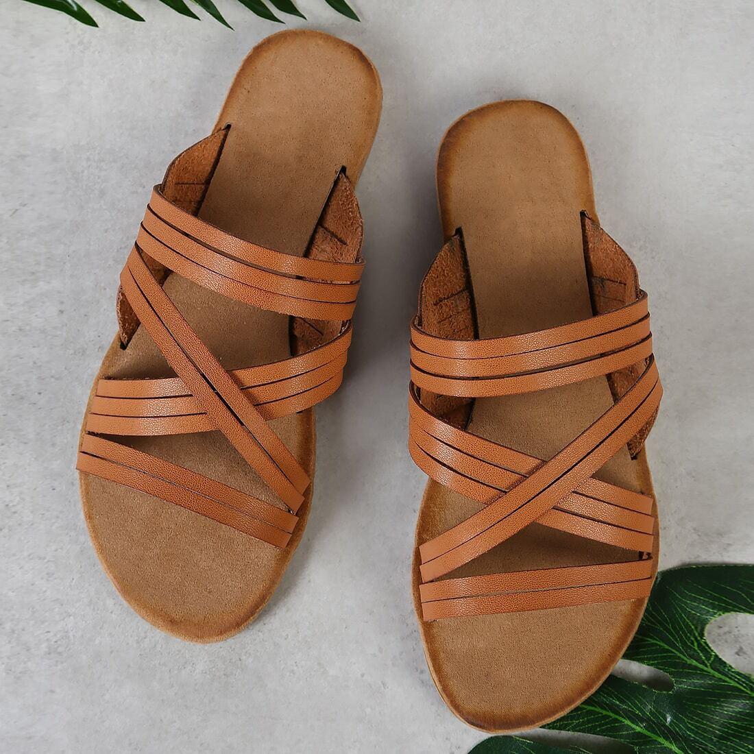 Sandalen met fijne bandjes