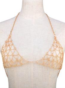 Caged Chain Bralette