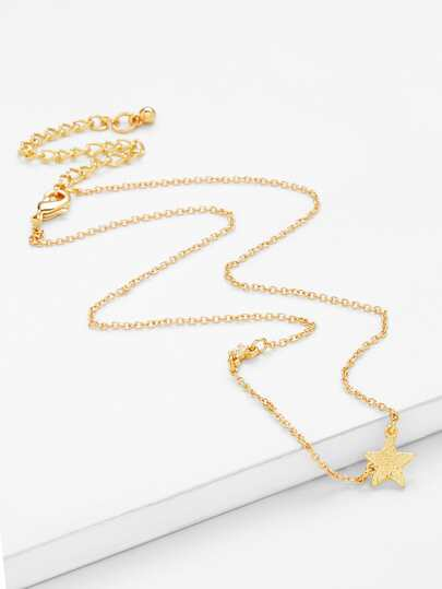 Star Charm Chain Necklace