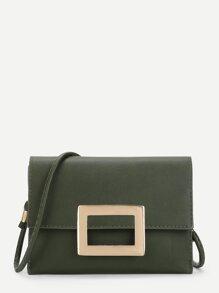 Mental Detail Crossbody Bag